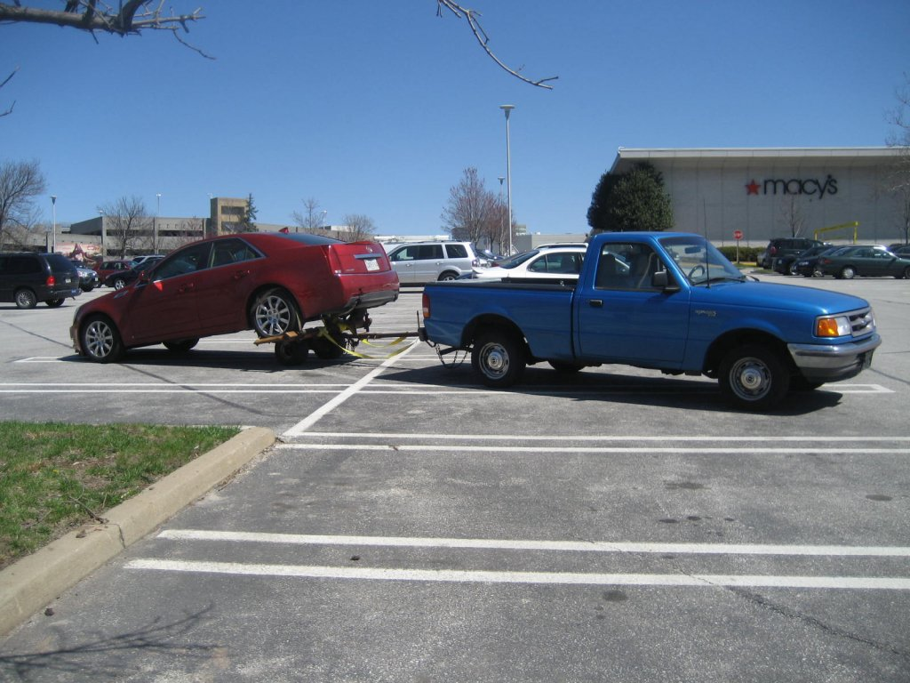 Ford Ranger towing CTS.JPG