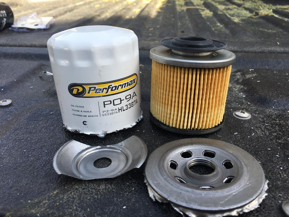 New performax po 9a cut open engine oil filters bob is for Where can i drop off used motor oil