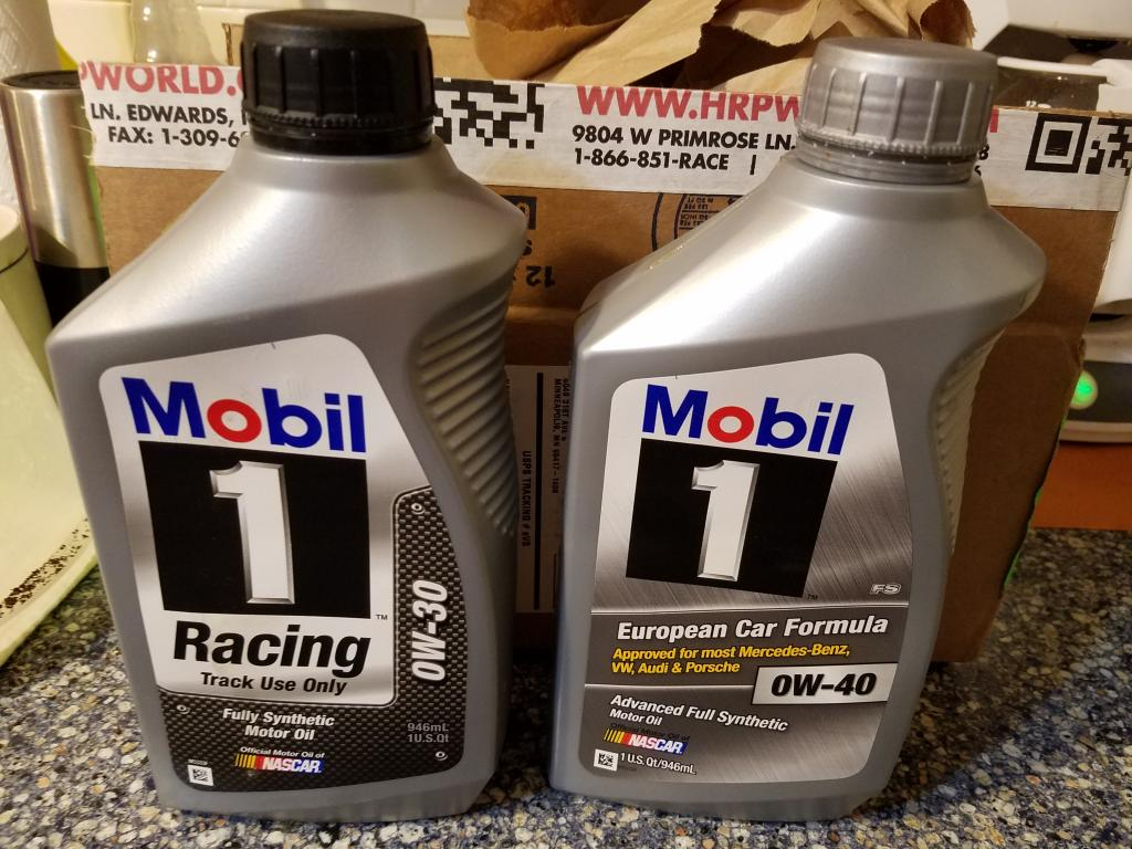 new mobil 1 racing 0w30 voa bob is the oil guy. Black Bedroom Furniture Sets. Home Design Ideas