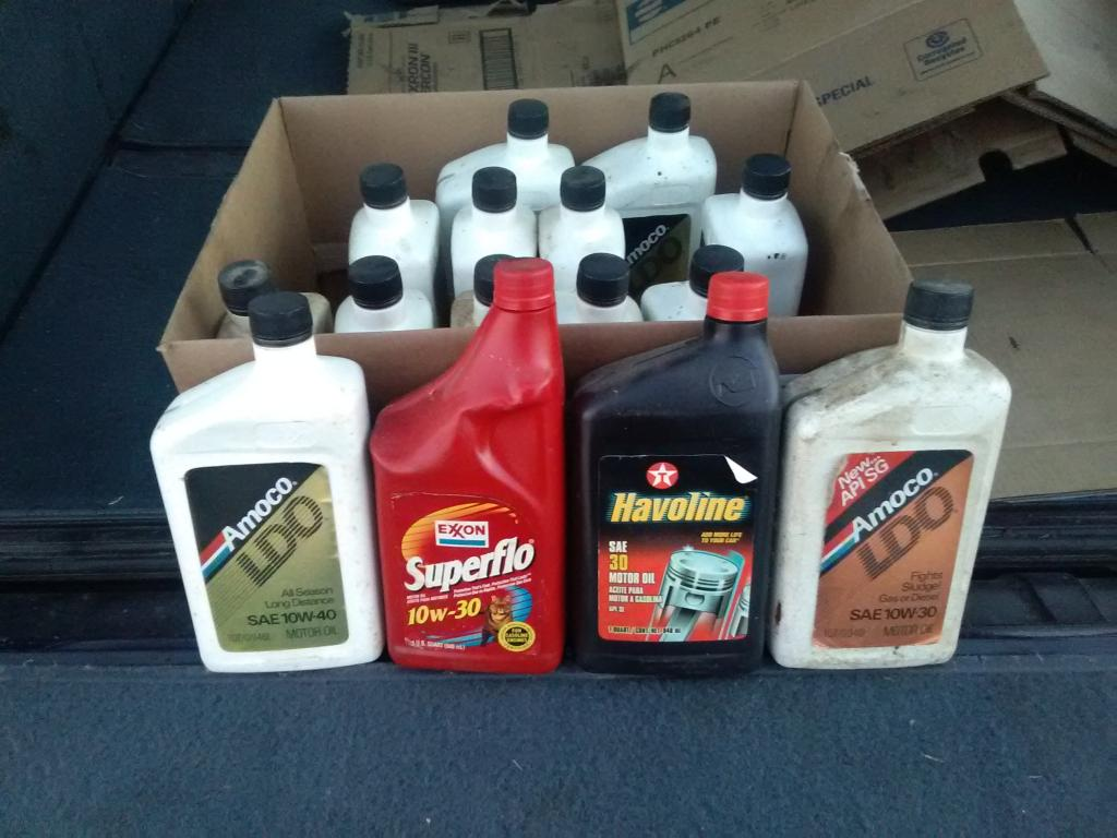 Added To The Stash Today Passenger Car Motor Oil Pcmo