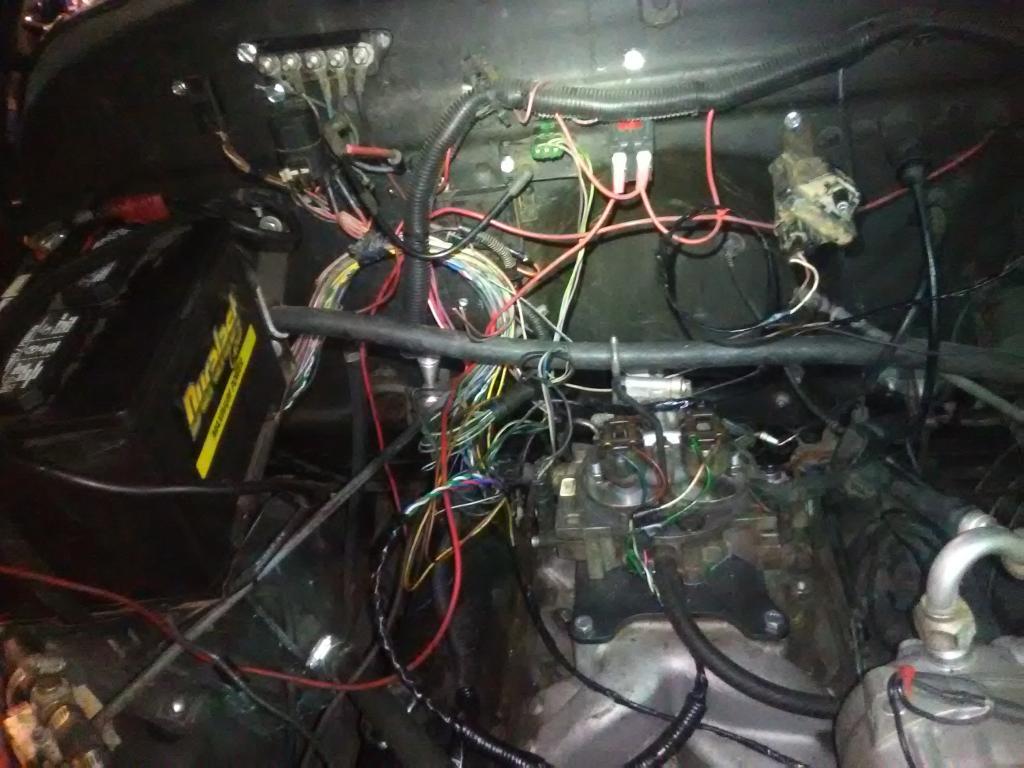 Shop Pics - Bob Is The Oil Guy K Blazer Wiring Harness on k5 blazer drive shaft, k5 blazer lowering kit, k5 blazer fuel filter, k5 blazer switches, k5 blazer speedometer, k5 blazer sway bar, k5 blazer master cylinder, k5 blazer lights, k5 blazer speaker, k5 blazer air cleaner, k5 blazer exhaust system, k5 blazer switch panel, k5 blazer fuel tank, k5 blazer ignition switch, k5 blazer suspension, k5 blazer frame, k5 blazer fusible link, k5 blazer axles, k5 blazer hood, k5 blazer antenna,