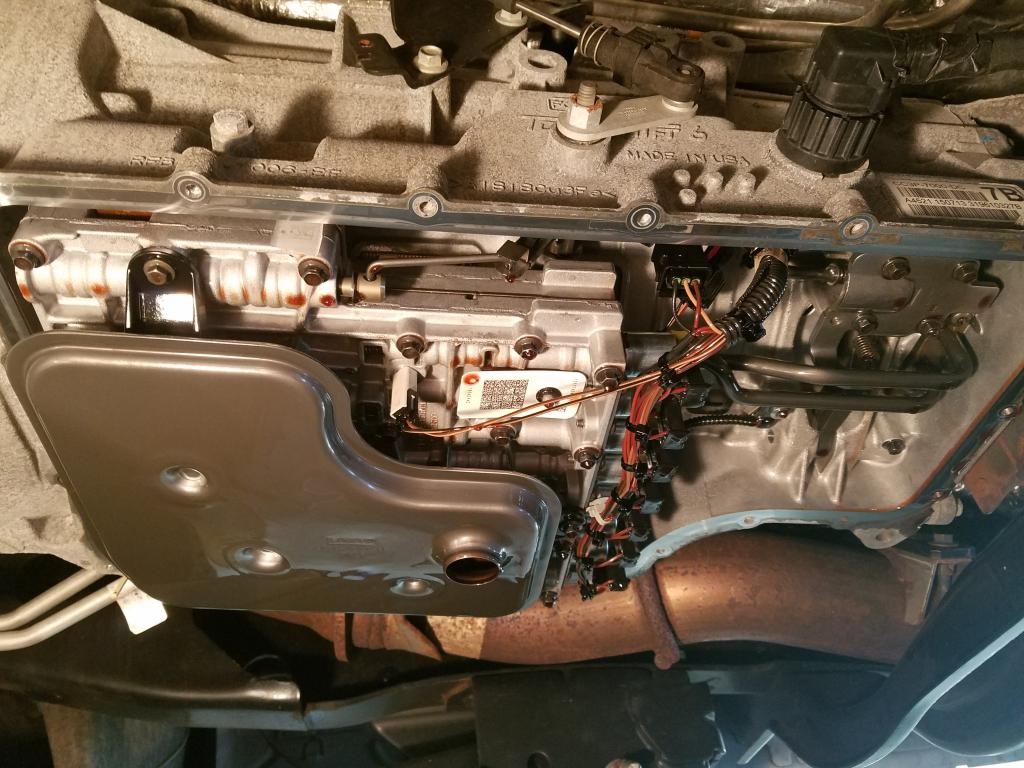 Post Your Latest Transmission Lubricant Change Bob Is