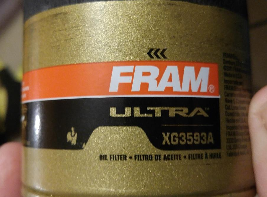 Fram Ultra Quality Control | Engine Oil Filters | Bob Is The Oil Guy