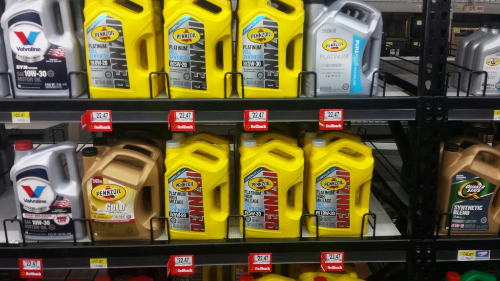 Pennzoil Platinum, PPHM, on Rollback at Walmart. | Product Rebates ...