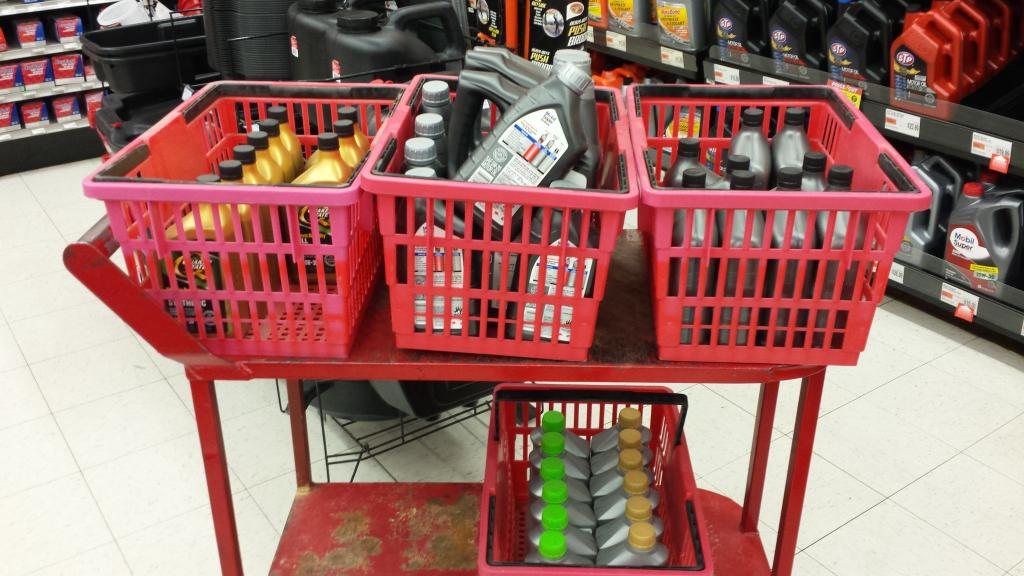 Where do you guys find oil that 39 s on sale heavy duty for 0w 20 motor oil autozone