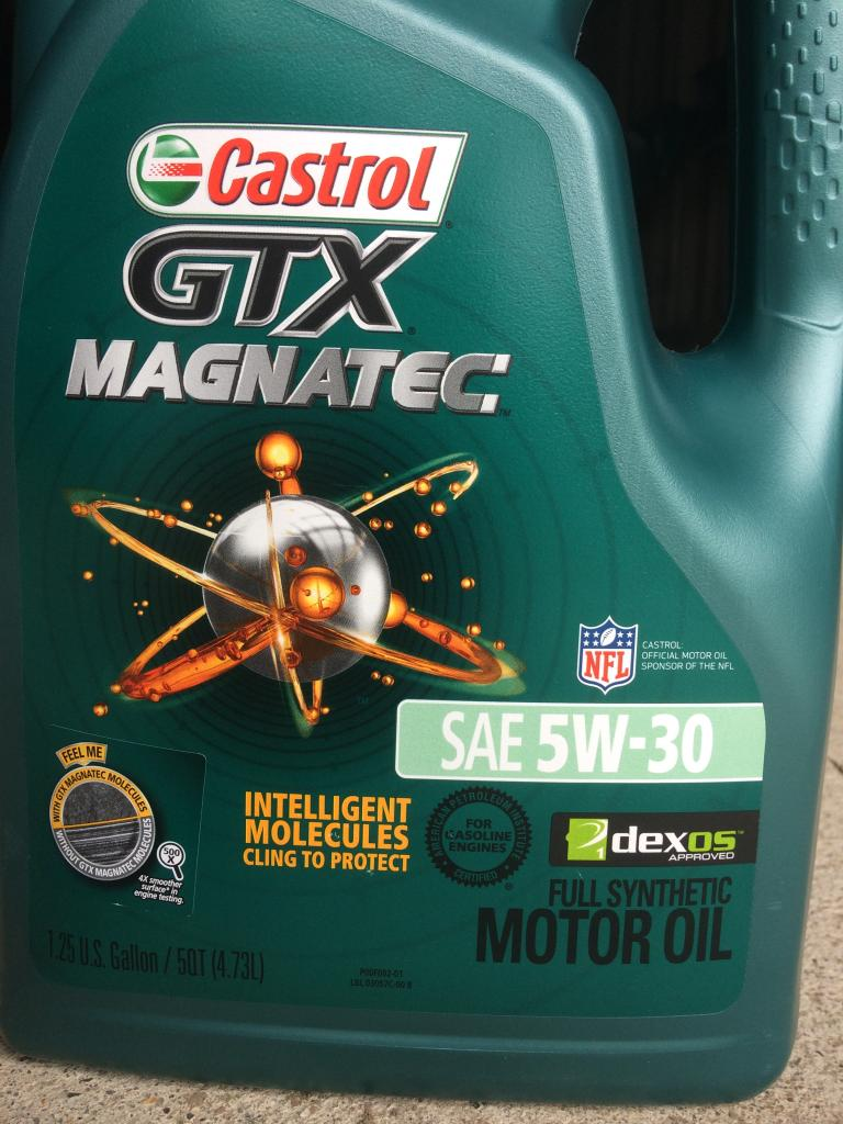 castrol gtx magnatec 5w 30 full synthetic bob is the oil guy. Black Bedroom Furniture Sets. Home Design Ideas