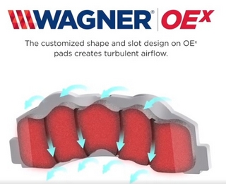 Initial review: Wagner OEX pads & AC Delco rotors - Bob Is
