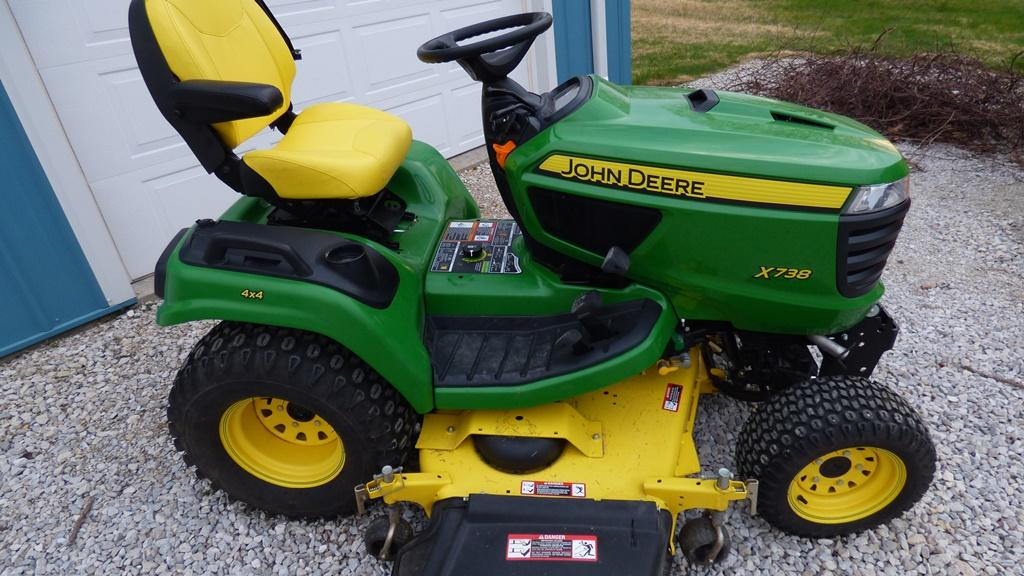 John deere 210 lawn tractor oil filter location john for Best motor oil for lawn mowers
