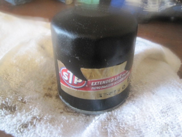 Stp Extended Life Cut Open Engine Oil Filters Bob Is