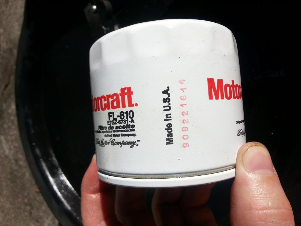 Engine Oil Filter MOTORCRAFT FL-810-A