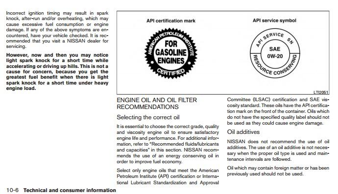 1996 nissan maxima engine oil capacity