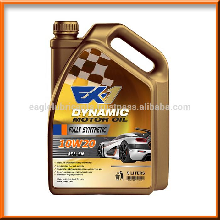 10w20 Oil Passenger Car Motor Oil Pcmo Gasoline Cars