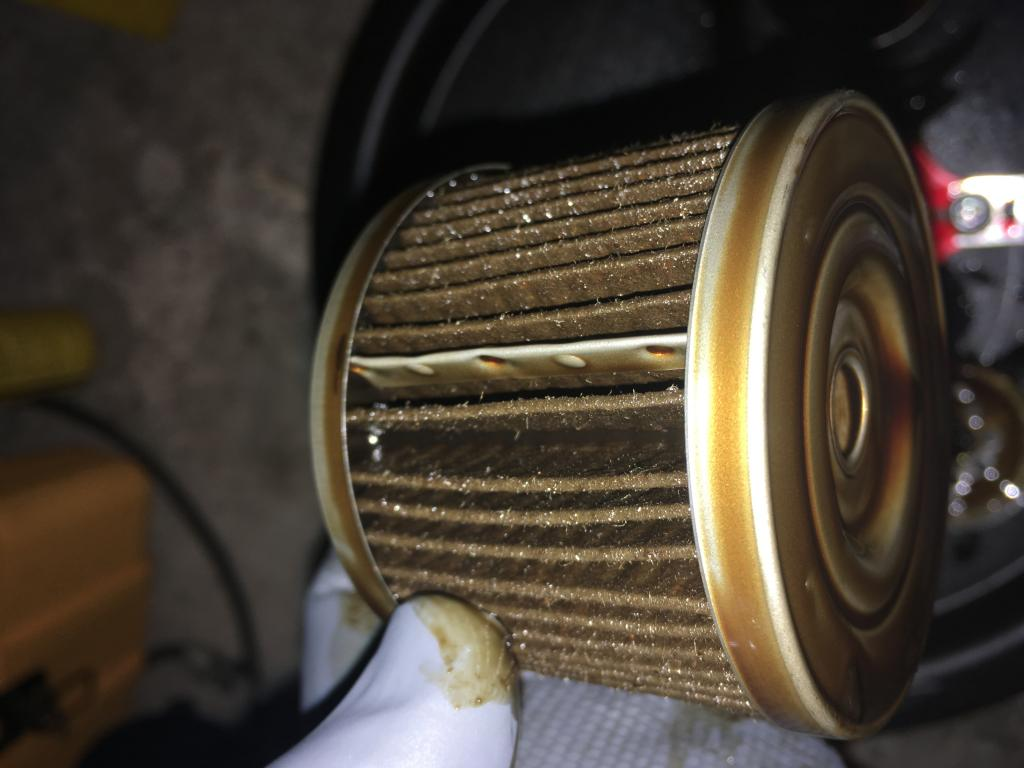 Napa Gold 1334 Cut Open Engine Oil Filters Bob Is The