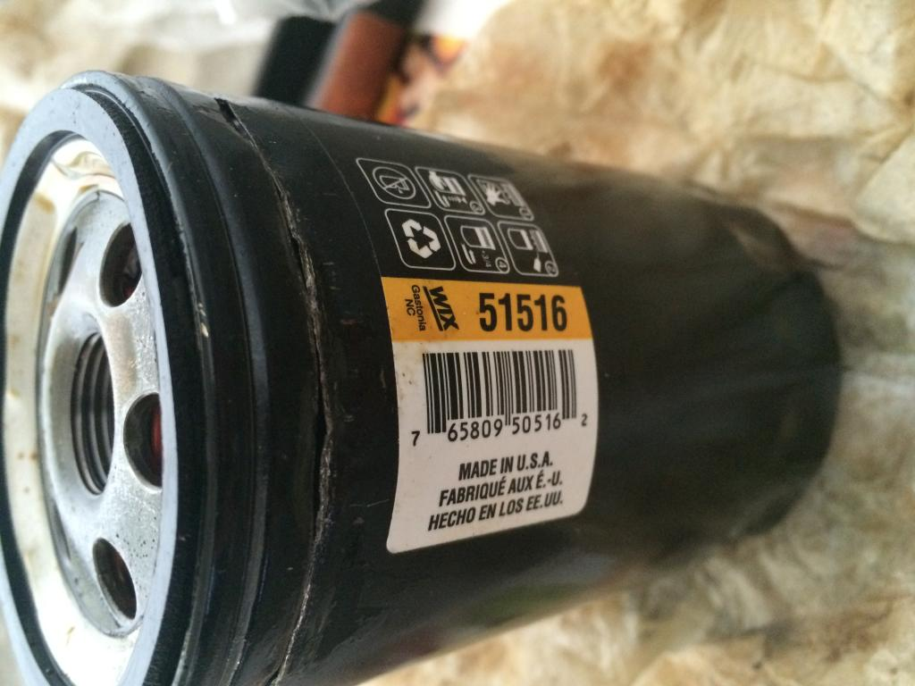 Engine Oil Filter Wix 51516