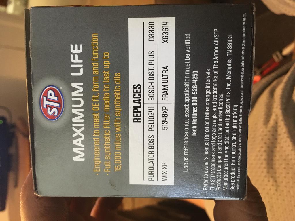Virgin STP MAXIMUM LIFE Filter #S-3614ML CUT OPEN - Bob Is