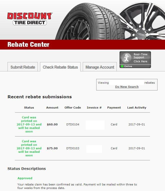 Discount Tire Direct Rebate Denied Bob Is The Oil Guy