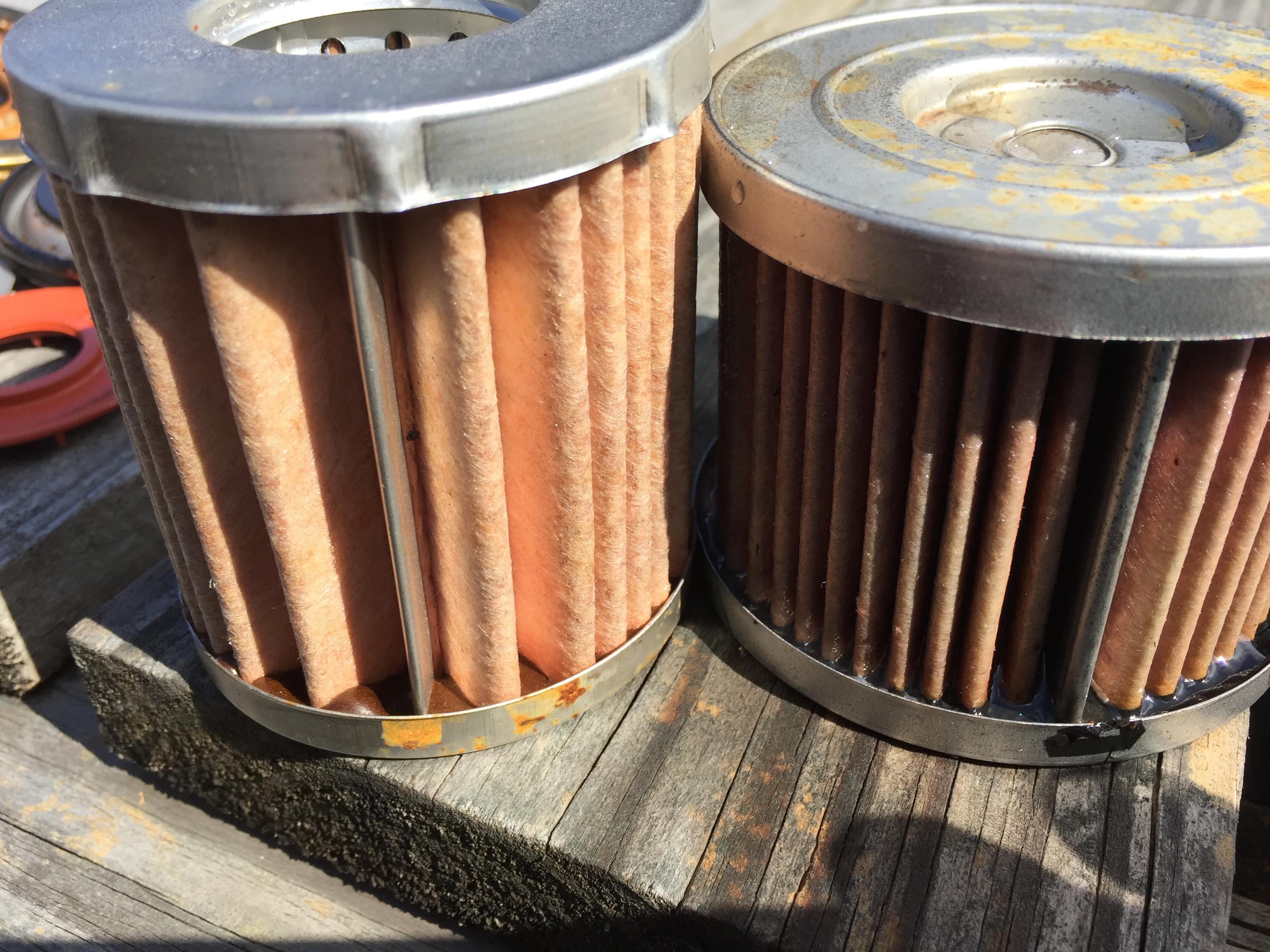Napa Gold 7356 5950 Mi Cut Open Engine Oil Filters