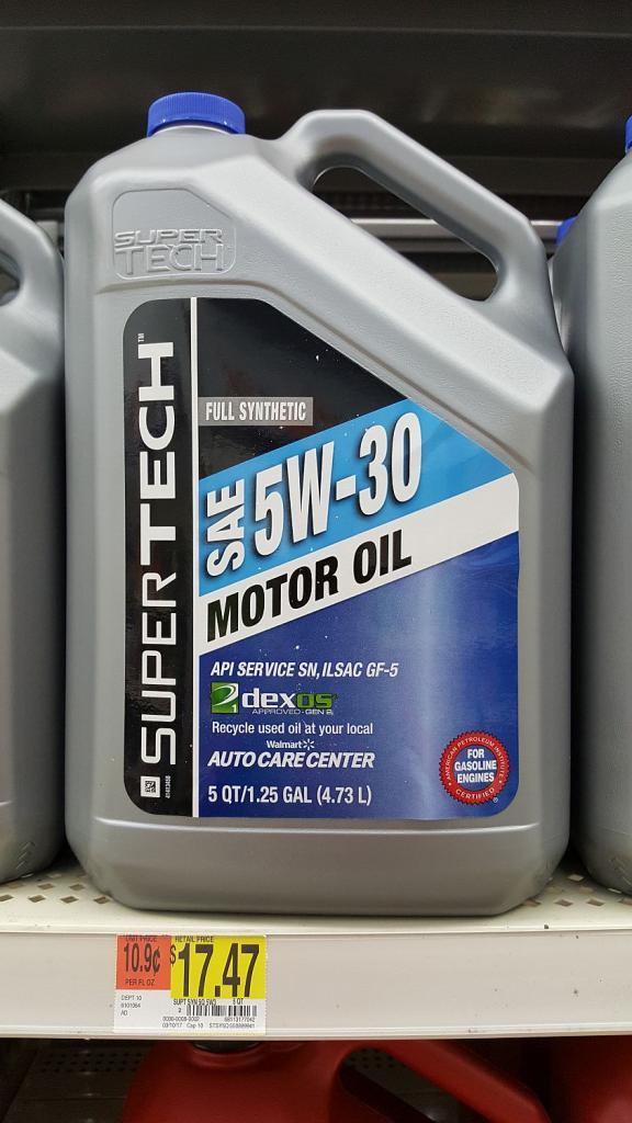 SuperTech Dexos1 Gen2 - Bob Is The Oil Guy