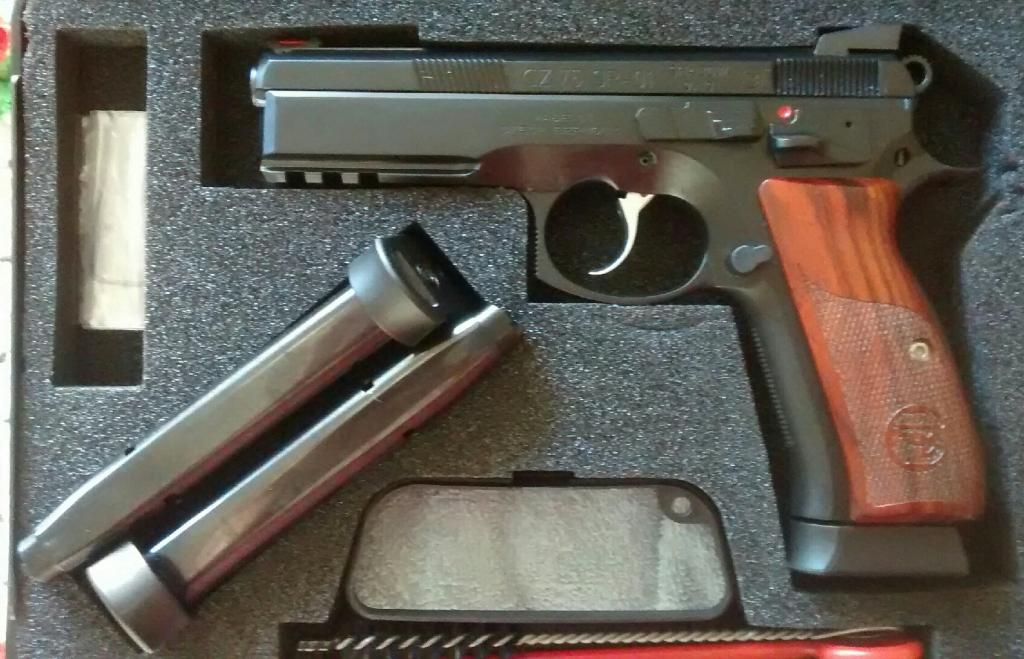 New Tanfoglio Stock III Witness Elite Ordered - Bob Is The Oil Guy