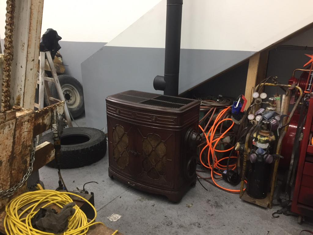 Heat My New Shop With 1940's DuoTherm Oil Heater - Bob Is ...