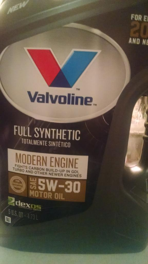 New Valvoline Advanced Synthetic oil - Bob Is The Oil Guy