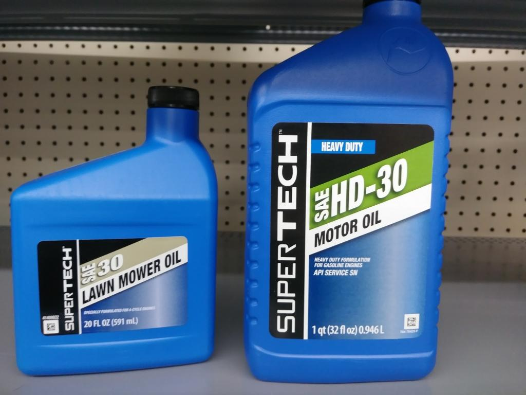 What kind of motor oil for my lawn mower caferacer for What is hd 30 motor oil
