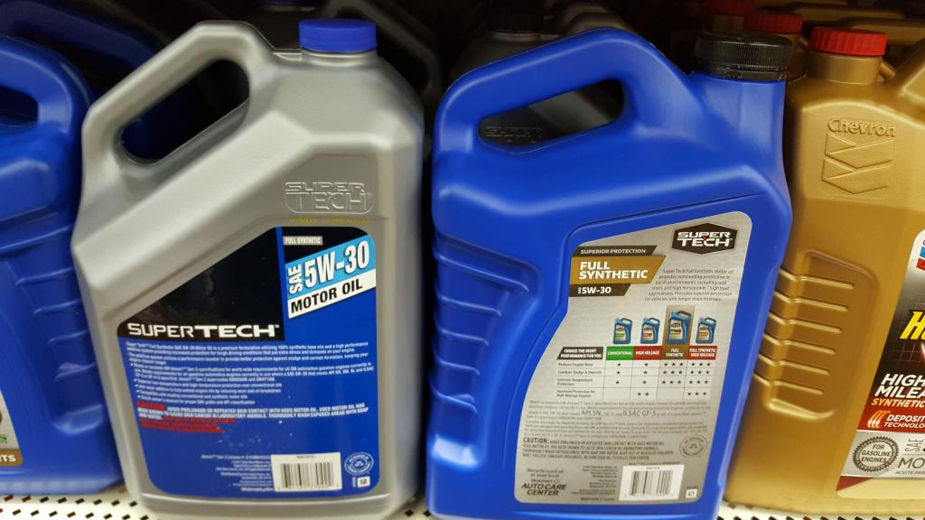 10W30 Motor Oil >> BRAND NEW SUPERTECH SPOTTED - Bob Is The Oil Guy